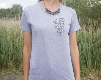 True Love T-Shirt Fashion Tee Pocket Pizza Slice Arrow Heart Donut Slogan Swag Fresh Dope Bae Lover Grunge Top