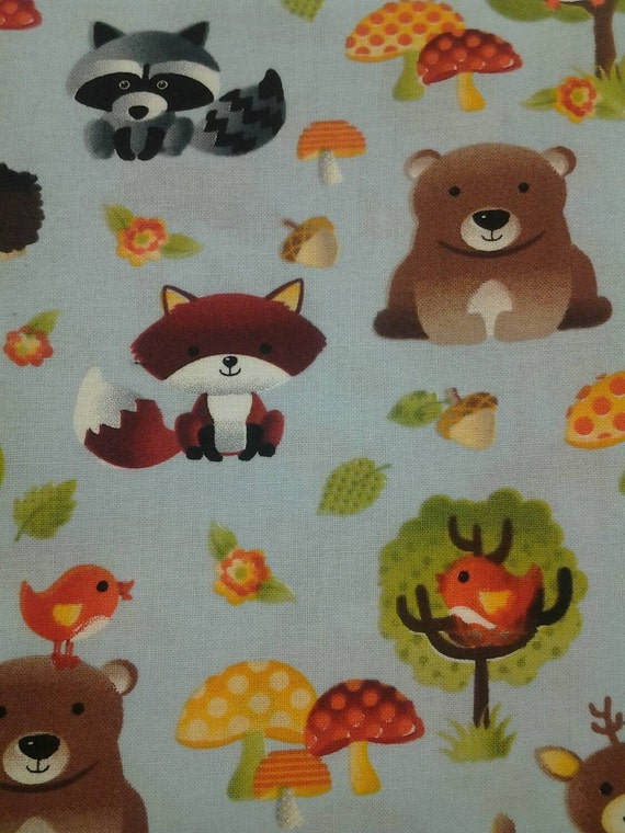 Animal Nursing Pillow : Boppy Cover Forest Animals Nursing Pillow by CaseysConcoctions