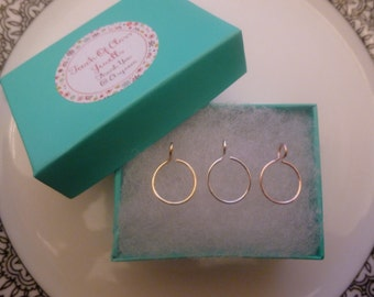 Fake Nose Ring Set