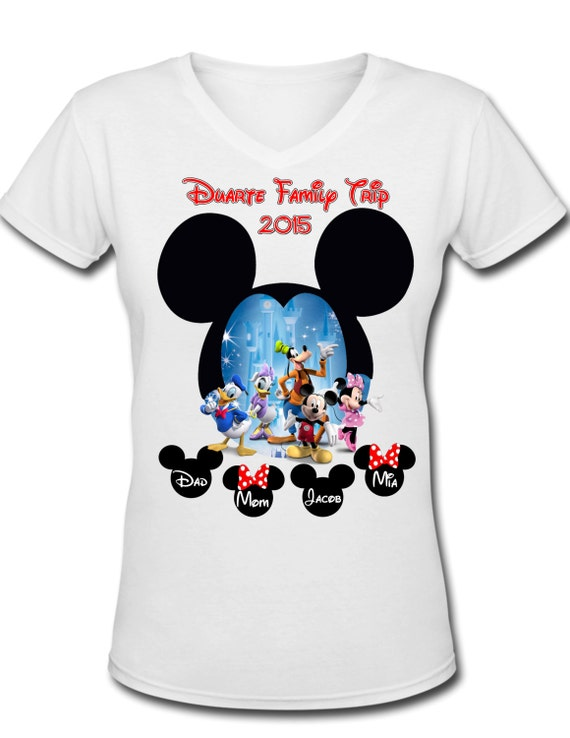 Disney world family vacation personalized by for Custom t shirt orlando