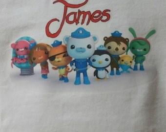 Custom Octonauts Birthday shirt for kids