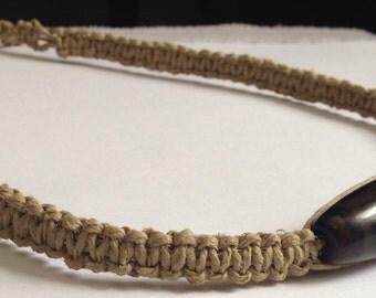Hemp Choker Necklace