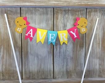 Little Peanut Cake Topper | Peanut Birthday | Little Peanut Baby Shower | Little Peanut Banner | Little Peanut Party | Little Peanut