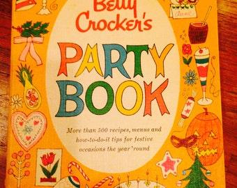 Rare 1st Ed 1st Print 1960 Betty Crocker Party Book