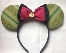 Princess Anna Mouse Ears Custom Frozen Mouse Ears