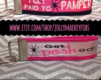 Perfectly posh key fob