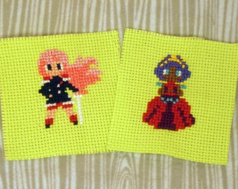 Set of Utena & Anthy Patches