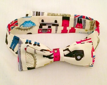 I Love London Bowtie