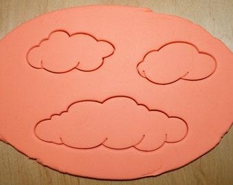 3 Pcs. Clouds Cookie Cutter Set