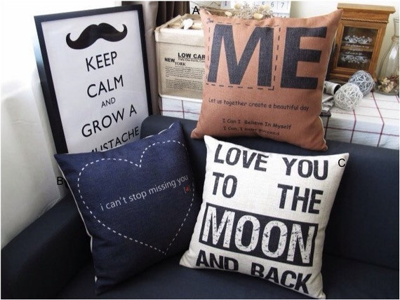 The sayings throw pillow case pillow cover