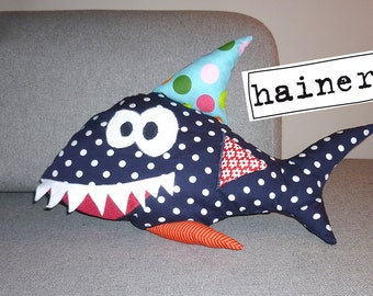 Habte the stuffed shark