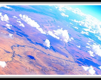 Follow the road, Soaring High Above the Clouds Cloud Photo