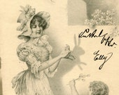 Easter - 1905 - Antique Postcard - Austria/Germany/Switzerland