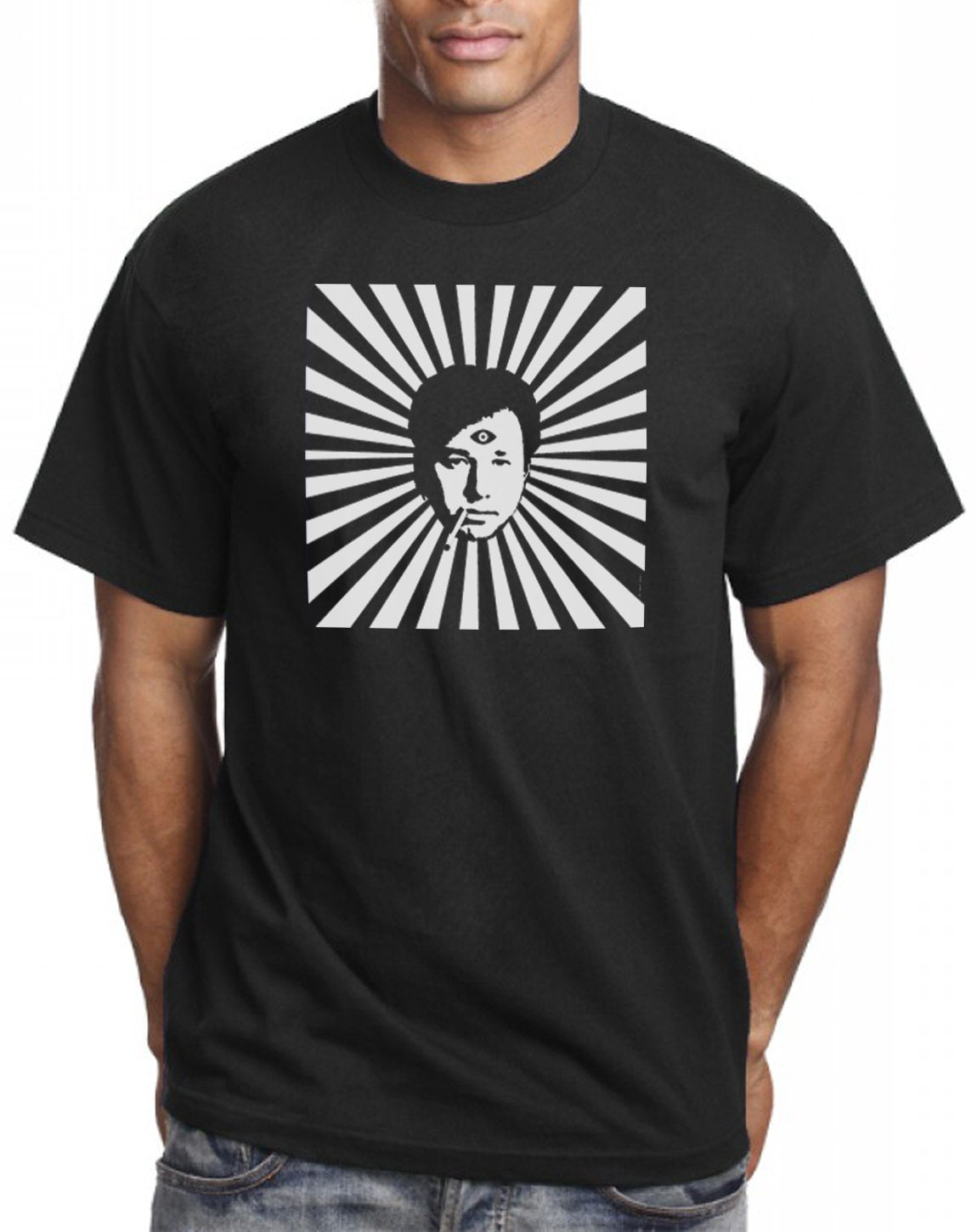 Bill Hicks T-shirt Third Eye Psychedelic by by ...