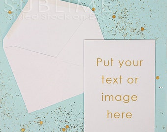 Styled Stock Photography / Blank Card / Mockup / Card Design / Card Mock up / Styled Stationery /  2 JPEG Images / StockStyle-427