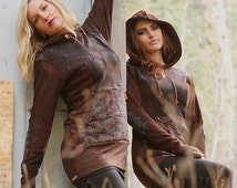 The Alexa Hoodie Organic Bamboo Fleece Pullover