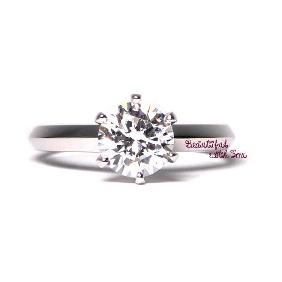Simple Silver Wedding Rings For Women Womens Silver W...
