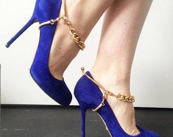 Shoe Jewelry - Brass Single