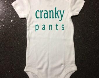 Cranky Pants bodysuit/t-shirt