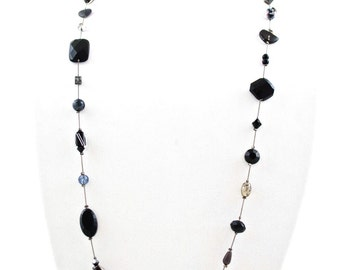 Swarovski Necklace with Mixed Beads