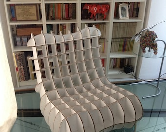 Cardboard Chair plans