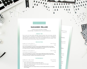 Professional Resume Cover Letter & References Template