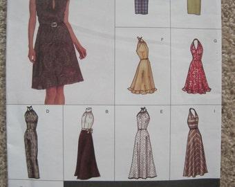 UNCUT Vogue Dress - Size 6 to 10 - Sewing Pattern 2530