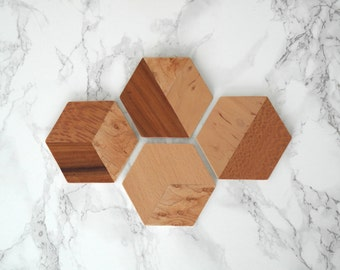 TANGRAM / / / inlay coasters