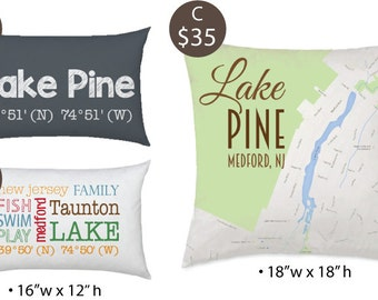 Medford 08055 Fund Raiser Pillows - Choose your style - Free Shipping