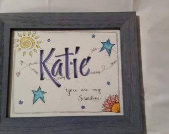 Personalized Name Art