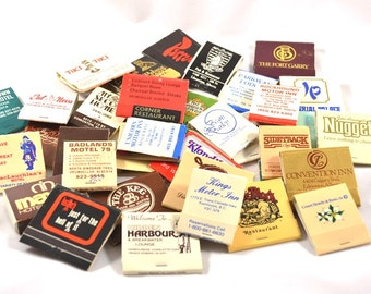 Assorted Matchbooks, approximately 30
