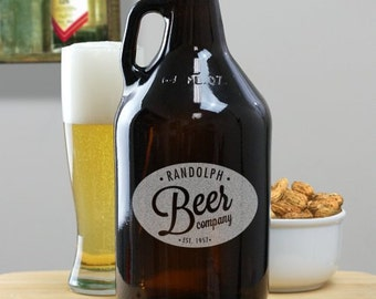 Beer Company Amber Beer Growler