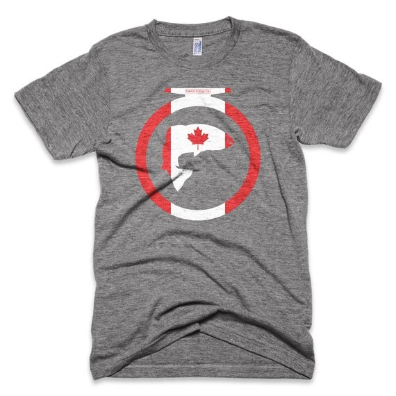 Canada trout fly fishing t shirtfly fishing by fishonenergyco for Fly fishing shirt
