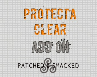 Protecta Clear add on for Engraved Jewelry