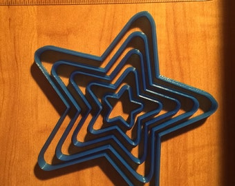 Star Cookie Cutter - Choose Your Own Size