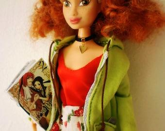 OOAK Barbie : PBo loves Manga