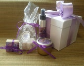 Mother's day gift set, Sugar Scrub, Bath Bomb, Mini Soap, Room Spray