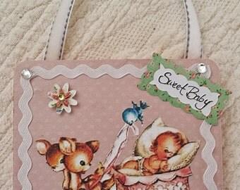 Sweet Baby Doorknob Hanger