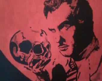 Vincent Price Original Painting
