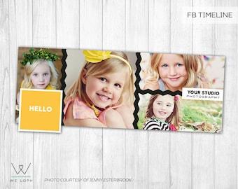 Facebook Timeline Cover - Facebook Timeline Template for Photographers  INSTANT DOWNLOAD SKU:FT004