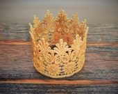 The Golden Princess Crown, Baby Crown, Child Crown,Photo Prop, Gold Crown, Princess Crown