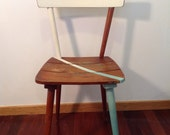 Dining Chair, Shabby Chic Chairs, Vintage Chairs, Midcentury Chairs, Turquoise Chairs