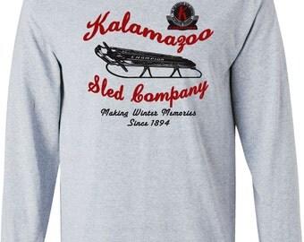 Kalamazoo Sled Company Long Sleeved Tee