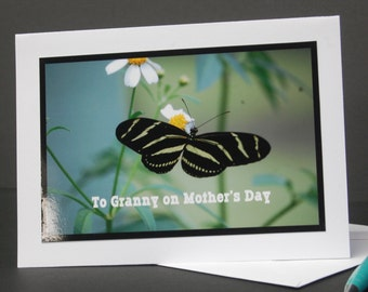 Mother's Day Card for Granny, Mother's Day wishes for Granny, blank card for Granny,
