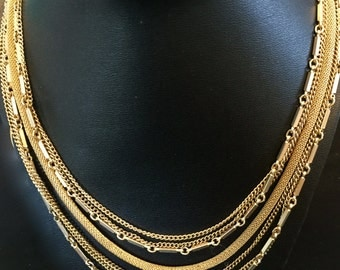 60's Multi-Chain Necklace                                                  VG1050