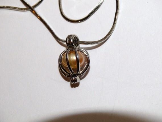 vintage costume genuine pearl necklace