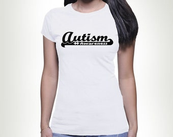 Autism Awareness Puzzle Piece T-shirt Tshirt Tee shirt Tee Autistic Support Educate Advocate Love Autism Awareness Month April Spectrum MB62