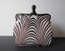 Popular items for glass purse on etsy - Safari murano jewelry ...