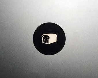 Bread Macbook Decal / Bread Loaf Macbook Pro Sticker