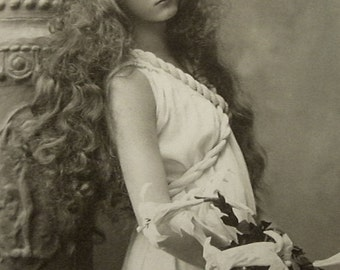 Elmer Chickering Photo, actress Maude Fealy early 1900s